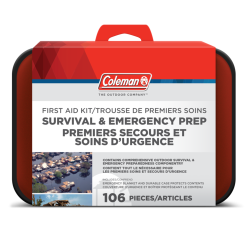 Survival & Emergency Prep First Aid Kit (128Pc)