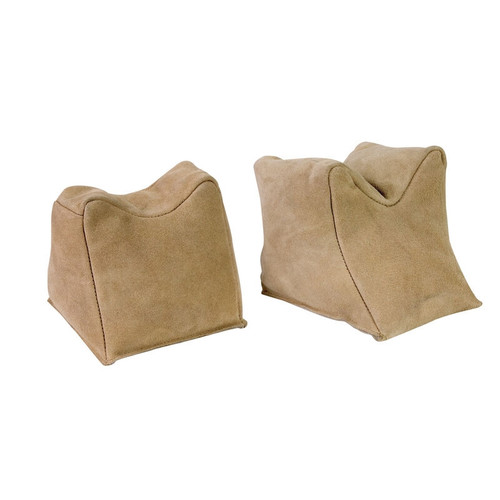 Suede Sand Bags Pre Filled - Pair