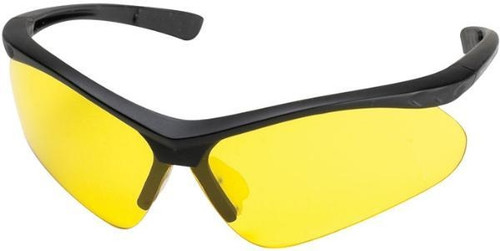Adult Yellow Shooting Glasses W/Case