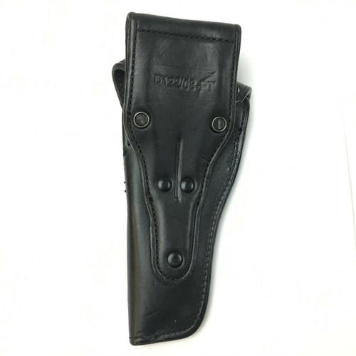 Ted Bourdon Leather Gun Holster Basketweave