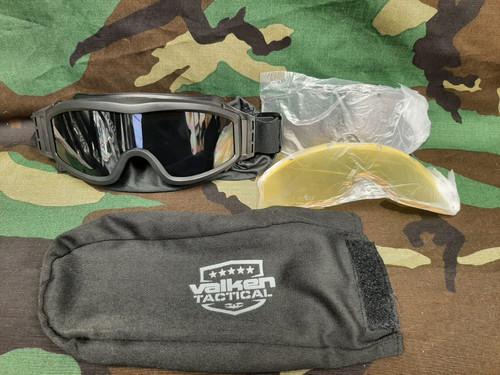 Valken VTAC Tango Tactical Goggles - Black - Floor Model