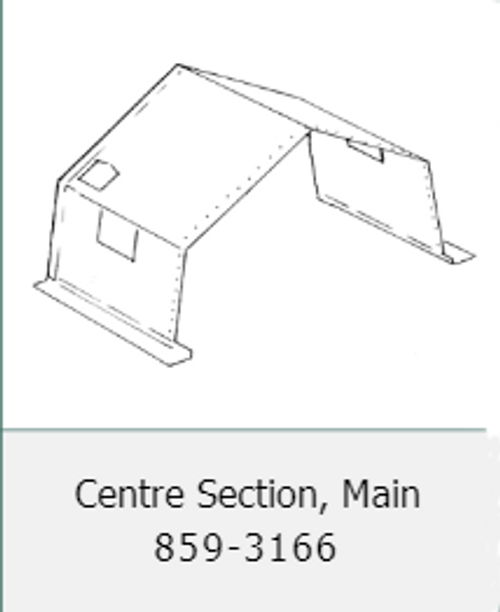 Canadian Armed Forces Modular Tent Section (Centre)