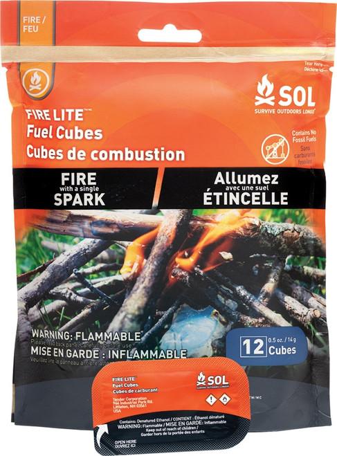 Fire Lite Fuel Cubes