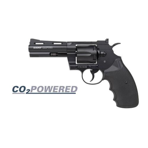 "Diana Raptor Co2 Airgun Revolver .177 - 4"""