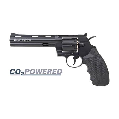 "Diana Raptor Co2 Airgun Revolver .177 - 6"""