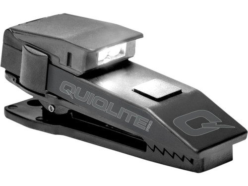 QuiqLitePro Hands Free Pocket Uniform Flashlite (Color: White / White)