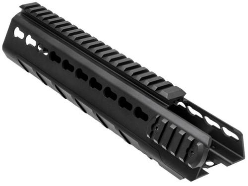 NcSTAR VISM Extended Keymod Triangle Mid-Length Handguard for M4 / AR15 Rifles
