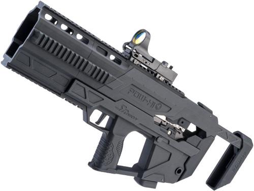 SRU 3D Printed PDW Carbine Kit for Hi-Capa Series Gas Blowback Airsoft Pistols (Type: Complete Gun)