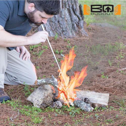 "BugOut Portable Fire Bellows - 19"" Overall"