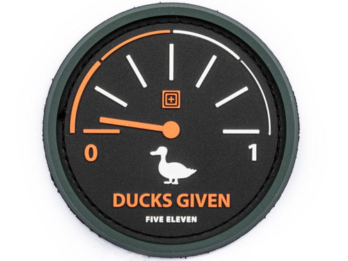 "5.11 Tactical ""Ducks Given"" Hook & Loop PVC Morale Patch"