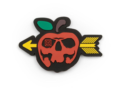 "5.11 Tactical ""Bad Apple"" Hook & Loop PVC Morale Patch"