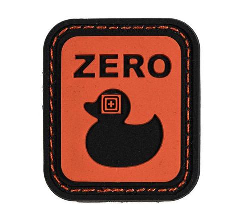 "5.11 Tactical ""Zero Ducks"" Hook & Loop PVC Morale Patch"