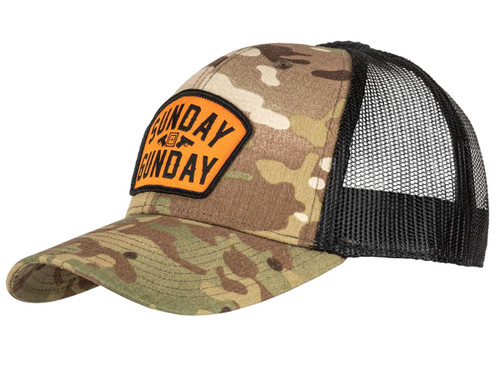 "5.11 Tactical Multicam ""SUNDAY GUNDAY"" Trucker Cap"
