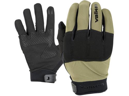 """Valken """"Kilo Tactical"""" Lightweight Padded Gloves (Color: OD Green)"""