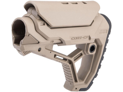 FAB Defense GL-CORE CP Combat Stock with GCCP Cheek Rest (Color: Flat Dark Earth)
