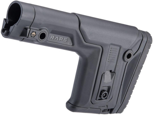 FAB Defense Rapid Adjustment Precision Stock (Color: Black)