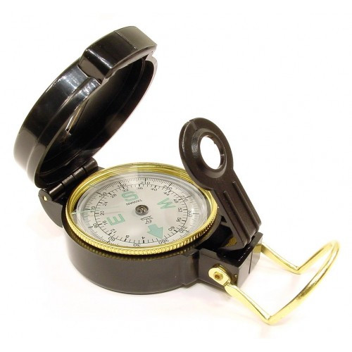 RUKO CD201PL, Liquid Filled Lensatic Compass, BLISTER