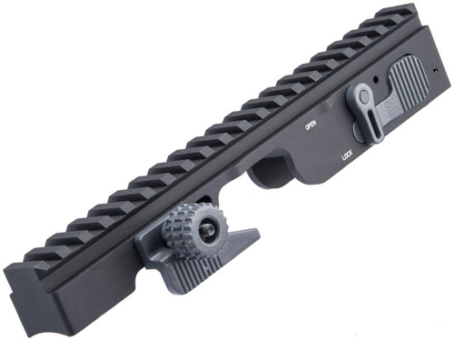 Creation Airsoft Scope Mount for PKM Series Airsoft AEG Machine Guns