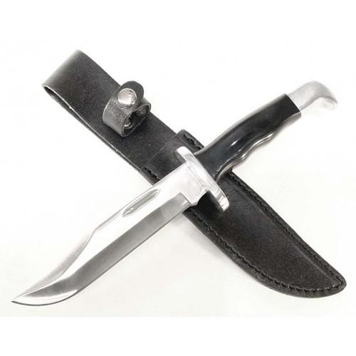 """RUKO NK924-9SH, 420A, 5-3/4"""" Fixed Blade Hunting Knife, ABS Handle"""