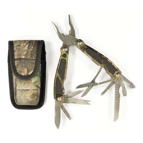 """RUKO RUK0055, 420A, 6-1/8"""" Multi-Plier Knife, WX-3D® Camouflage Handle, boxed"""