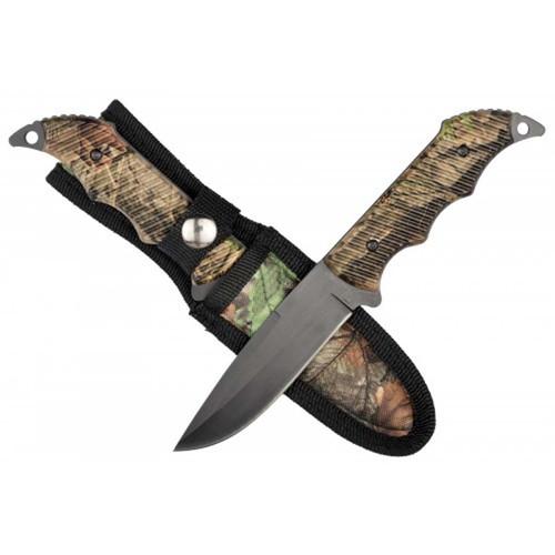 """RUKO RUK0100, 440A, 4-1/8"""" Fixed Blade Hunting knife, WX-3D Handle, boxed"""