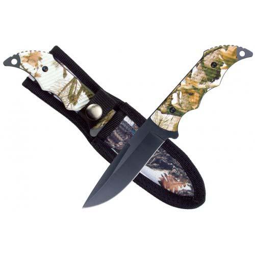 "RUKO RUK0100TND, 440A, 4-1/8"" Fixed Blade Hunting knife, TUNDRA Handle, boxed"