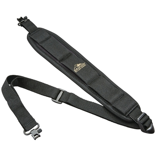 Comfort Stretch Rifle Sling W/Swivels Blk