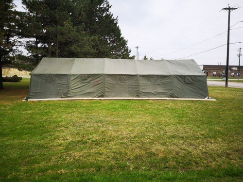 Canadian Armed Forces Modular w/Winter Liners Tent 16' x 24'  -Aluminum Frame