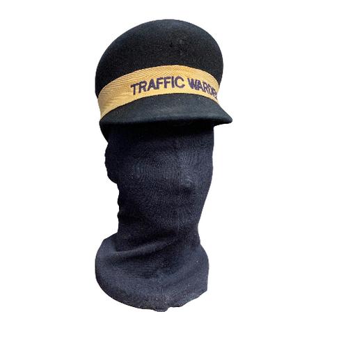 Vintage 1960 UK Traffic Warden Cap