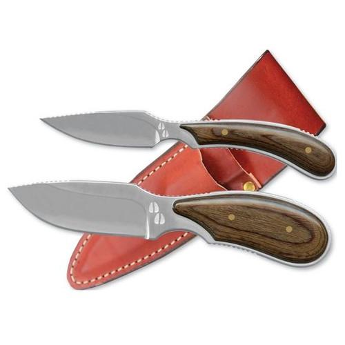 Dark Timber Combo Fixed Blade (Skinner/Caper)
