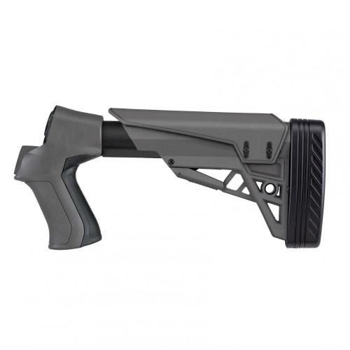 T3 ADJ Taclite Shotgun Stock Mos/Rem/Win 12Ga Destroyer Gray