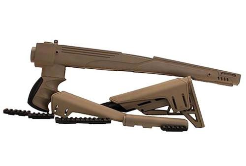 SKS Tactlite Dark E ADJ S/F Stock W/Scorpion Recoil System