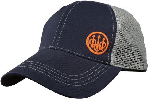 Trident Trucker Hat Navy