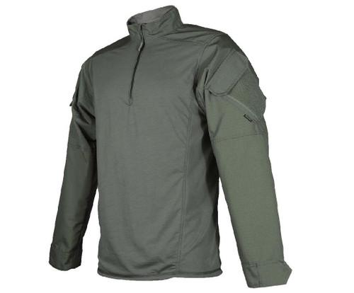 Tru-Spec Urban Force TRU 1/4 Zip Combat Shirt (Colour: OD Green)