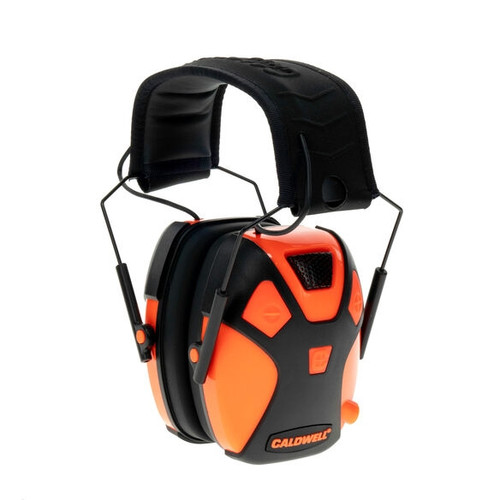 Youth Electronic Earmuff Hot Coral