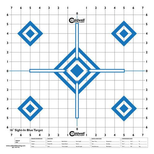 Hi Contrast Blue Sight In Paper Target 10/Pkg