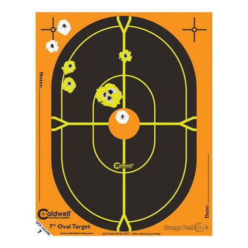 """Orange Peel Oval 18"""" Target 5/Pkg"""