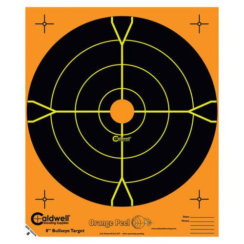 "Orange Peel 5.5"" Bulls-Eye Target 10/Pkg"