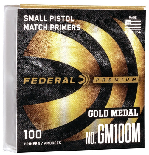 GM Small Pistol Match Primers Per/M