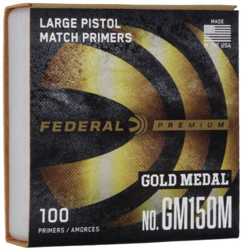 GM Large Pistol Match Primers Per/M