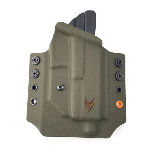 """Gryphon CZ Shadow 2 Holster OD Green W/1.5"""" Loops"""