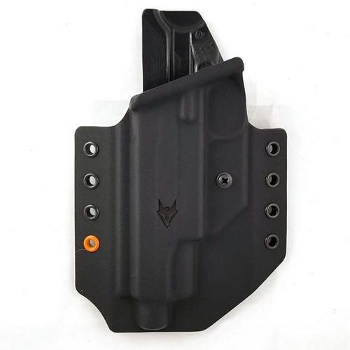 """Gryphon Glock 17/22 LH Holster Black W/1.5"""" Loops"""