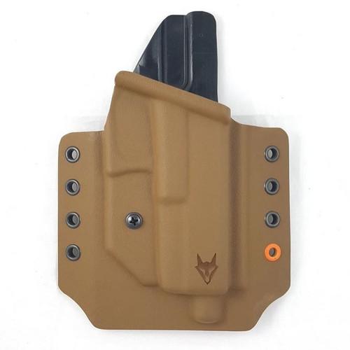 """Gryphon Glock 17/22 Holster Coyote W/1.5"""" Loops"""
