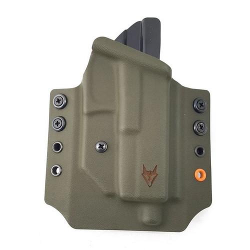 "Gryphon Glock 17/22 Holster Od Green W/1.5"" Loops"