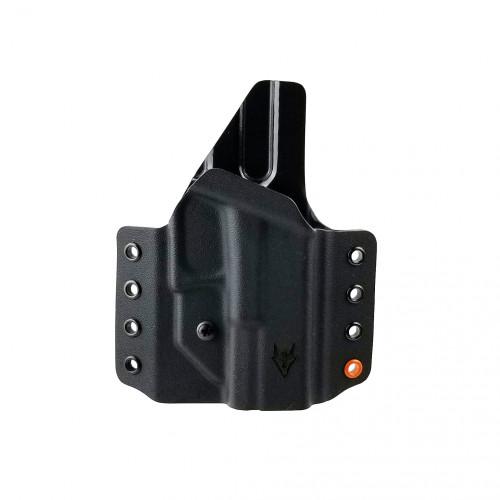 """Gryphon Glock 19/23 Holster Black W/1.5"""" Loops"""