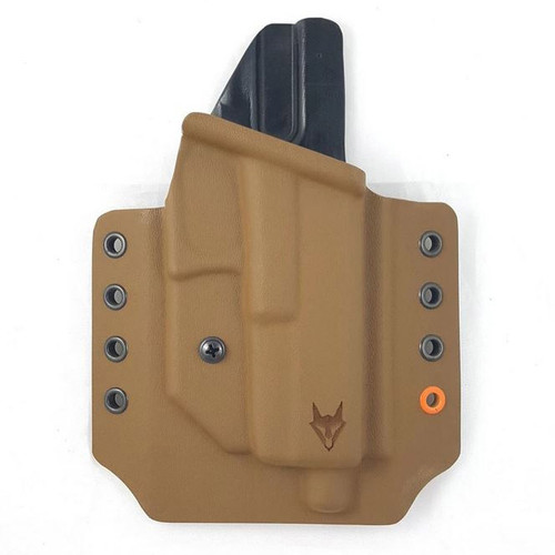 """Gryphon M&P 9/40 Holster Coyote W/1.5"""" Loops"""