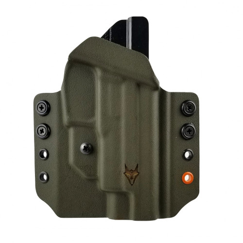 """Gryphon Sig P226 Holster OD Green W/1.5"""" Loops"""