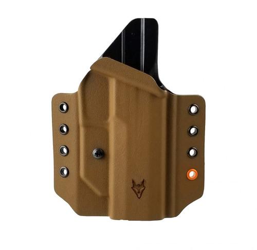 "Gryphon Sig P320 Holster Coyote W/1.5"" Loops"