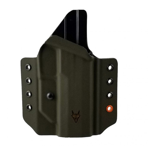 """Gryphon Sig P320 Holster OD Green W/1.5"""" Loops"""