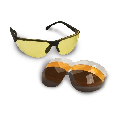 Sport Glasses W/Interchangeable Lens